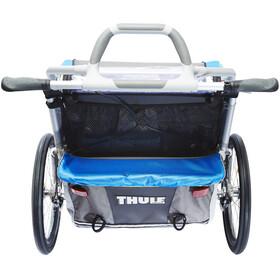 Thule Chariot CX2 + set vélo - Remorque vélo - bleu